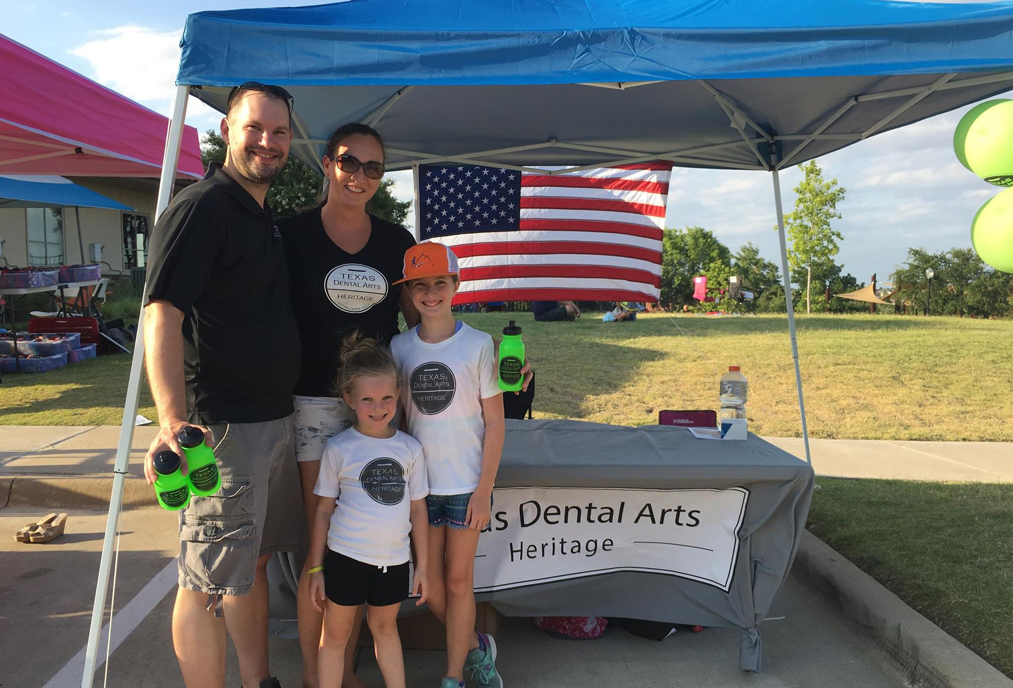 Texas Dental Arts at Heritage Event